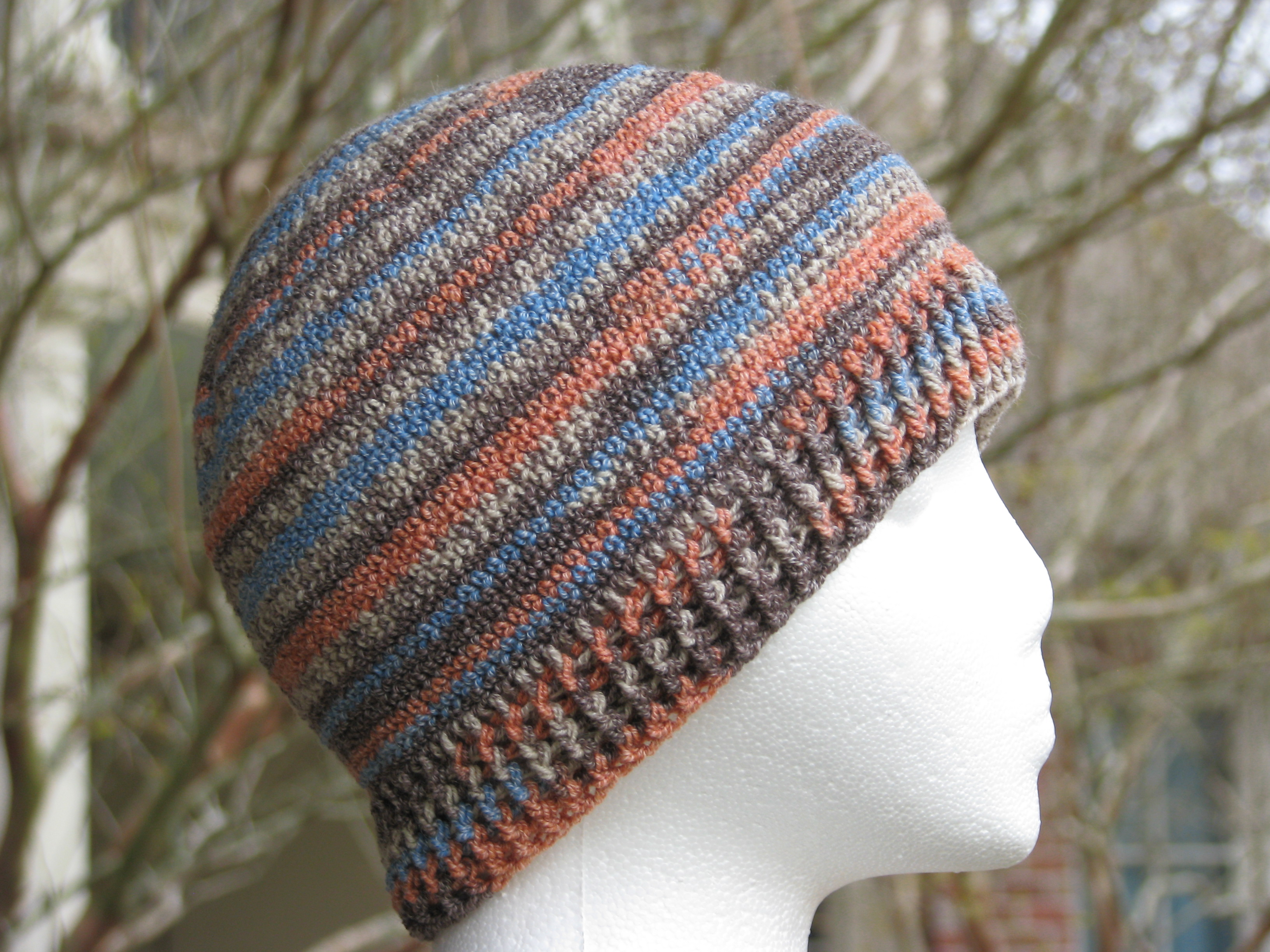 Tutorial Crochet Sock Yarn Hat