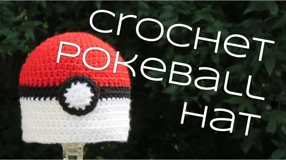 How to crochet a Pokeball that opens and closes! | Pokemon ... | 540x960